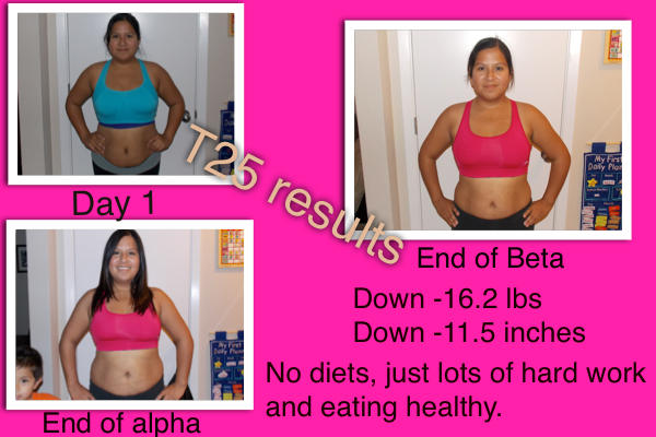 Focus T25 Results Alpha/Beta round #1 | Getting Fit with Nemisis